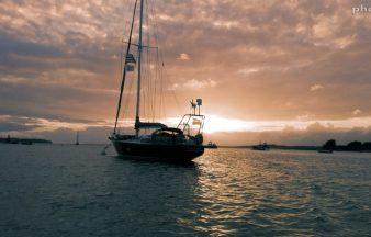 Le Ster Wenn sur la mer Bretonne